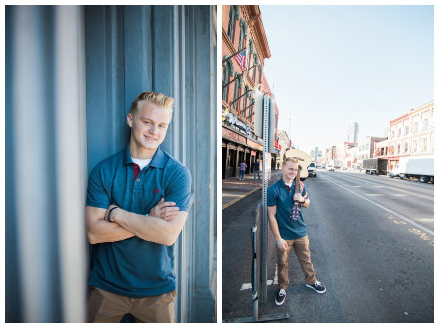 Nashville senior photographer, downtown Nashville senior photography